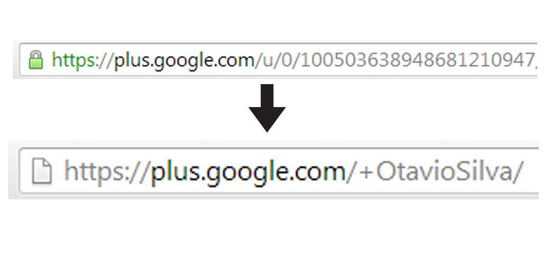 Personalizzazione dell'Url di Google+