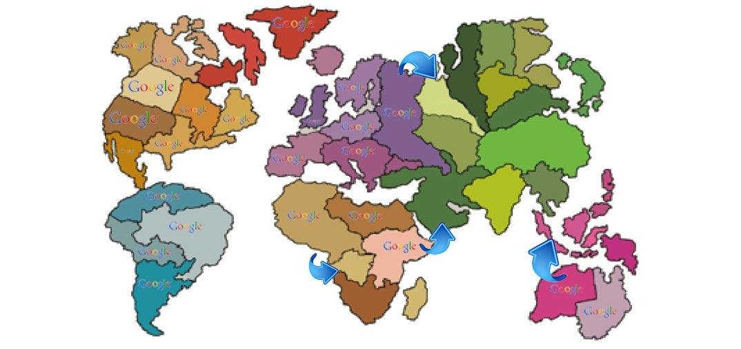 Google attacca con 4 armate il mondo