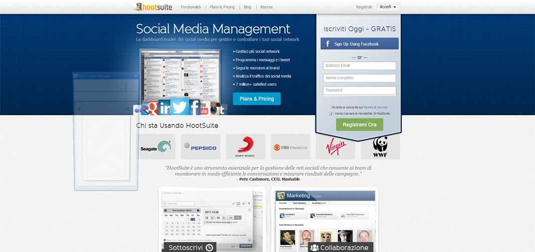Hootsuite, Social Media Management