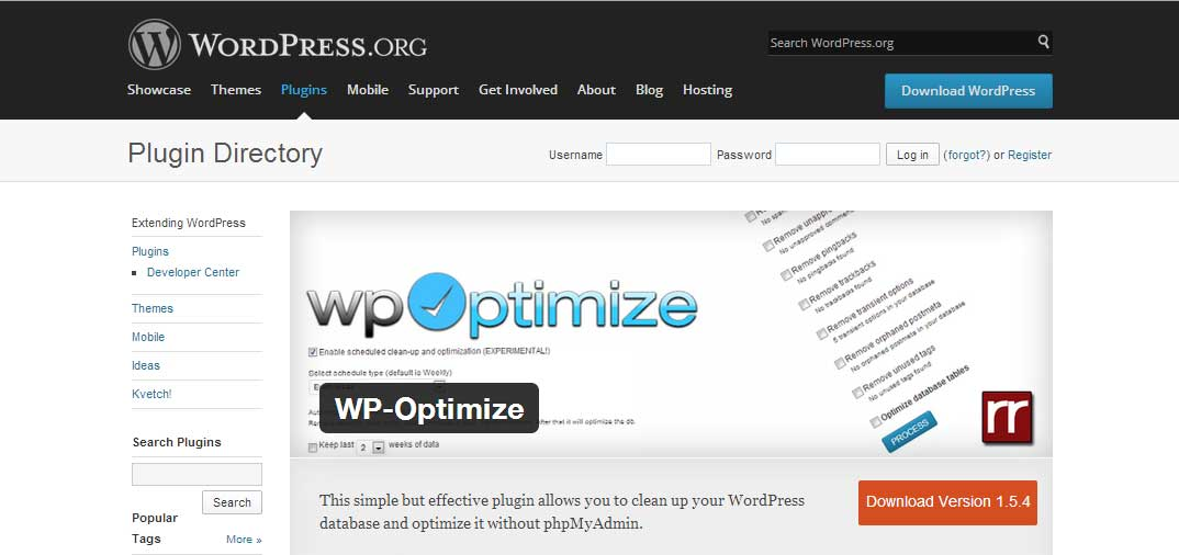 Ottimizzare il database di wordpress