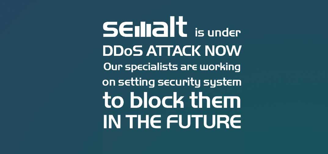 Semalt sotto attacco DDos
