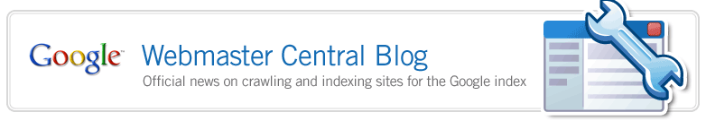 google webmaster central blog