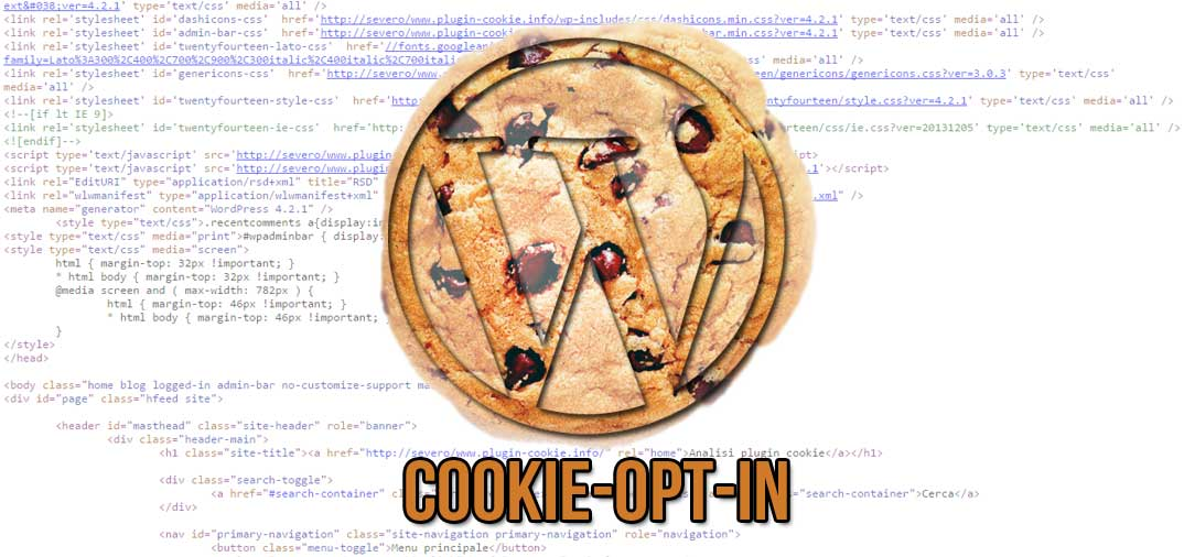 Plugin WordPress: Cookie-Opt-In