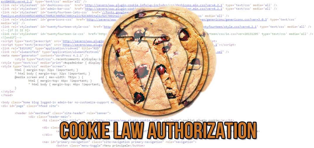 Plugin WordPress: Cookie Law Authorization