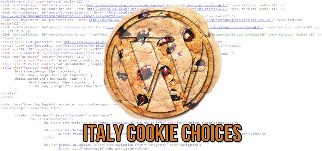 Plugin WordPress: Italy Cookie Choices
