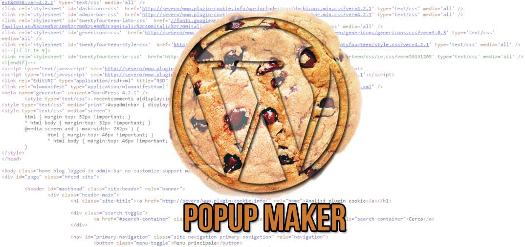 Plugin WordPress: Popup Maker