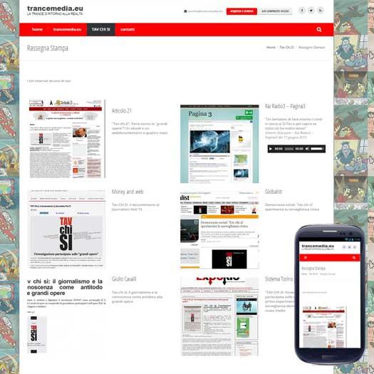 sito internet trancemedia rassegna stampa
