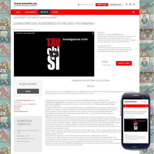 sito internet trancemedia tav chi si