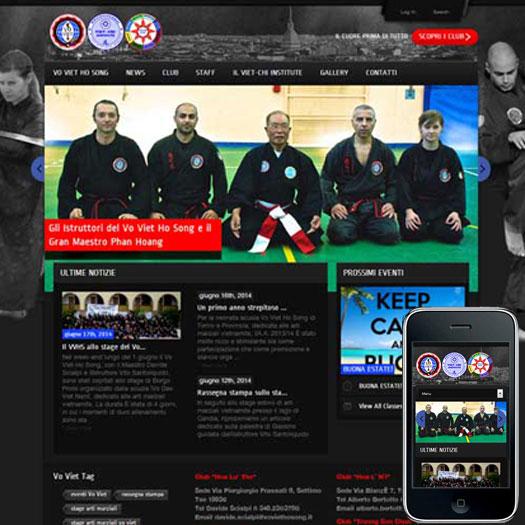 sito associazione arti marziali di Torino