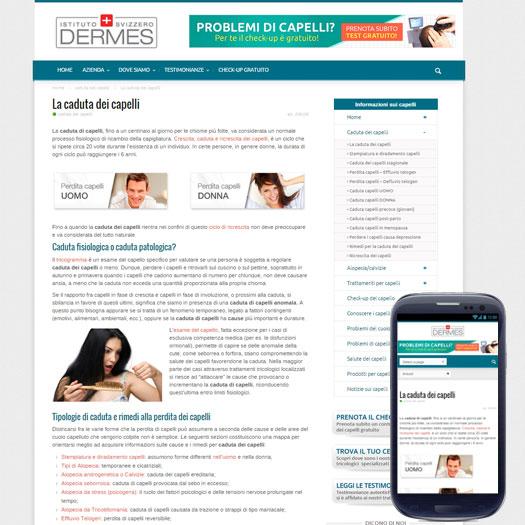 sito web dermes torino