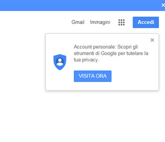 tutela privacy google