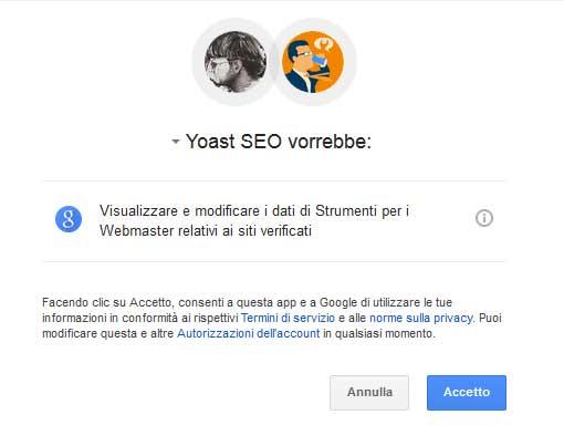 yoast google