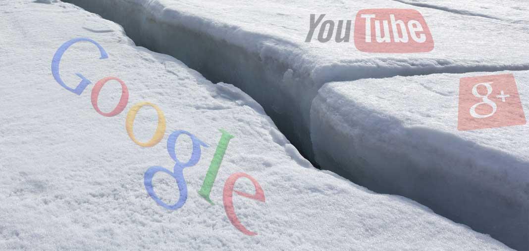 Google+ si separa da Google e YouTube