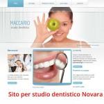 sito internet pagine gialle dentista Novara