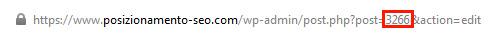 id url wordpress
