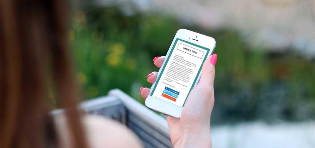 Inviare email di risposta automatica responsive