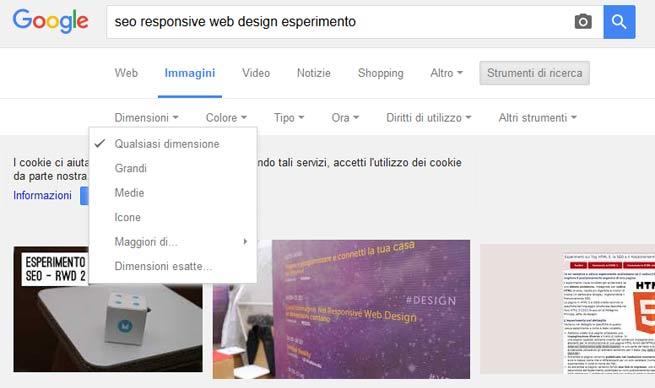 google strumenti ricerca immagini