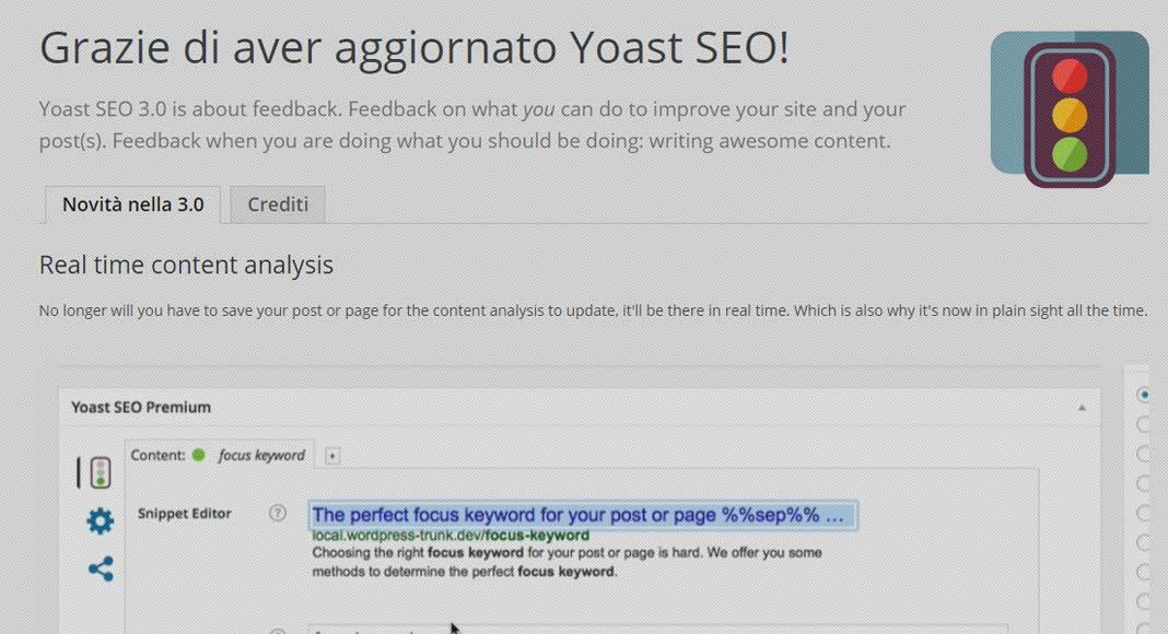 Yoast SEO 3.0: tutte le novità