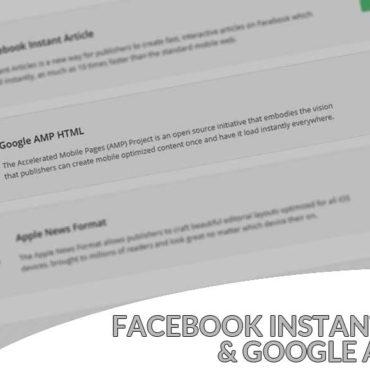 Facebook Instant Articles & Google AMP Pages: plugin per WordPress