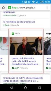 pagine amp google news