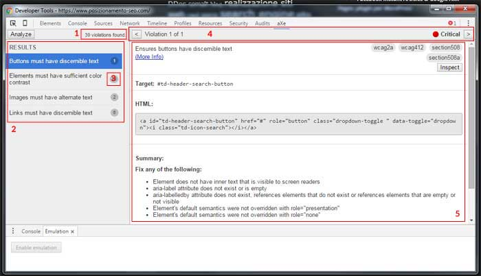 analisi automatica usabilita sito-web