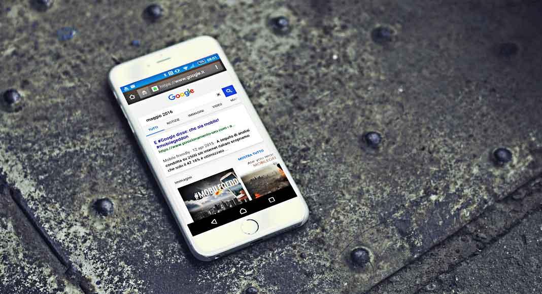 Google: maggio 2016, possibile incremento di ranking per i siti mobile