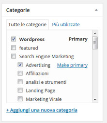yoast seo primary category