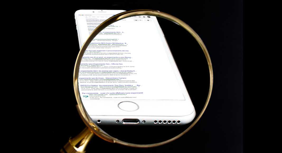 Analisi di una pagina non ottimizzata per il mobile sulla SERP