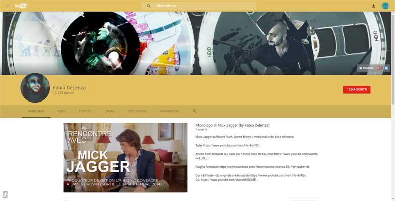 nuova interfaccia youtube canale
