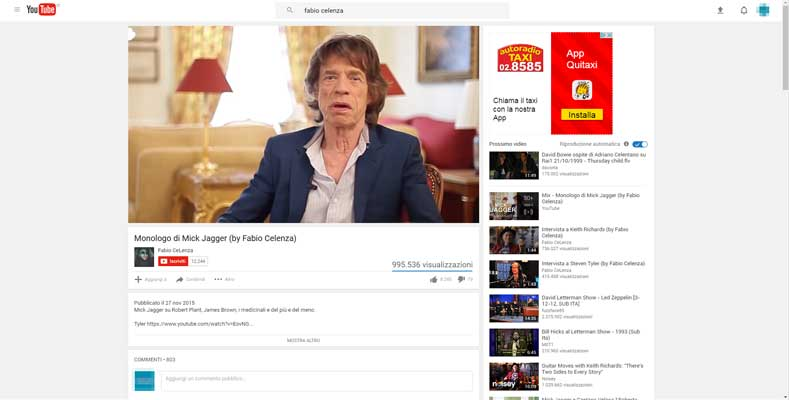 vecchia interfaccia youtube video