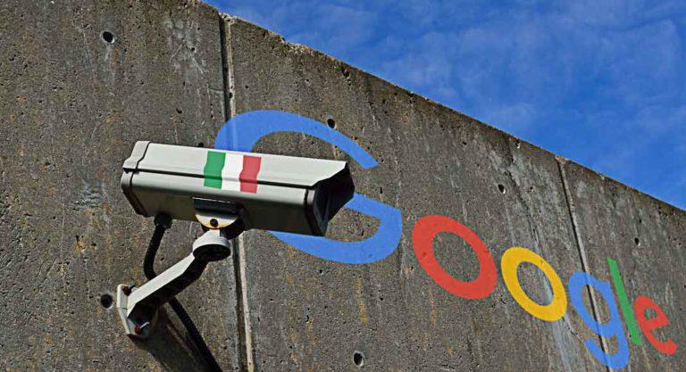 Google e la privacy imposta dal Garante Italiano