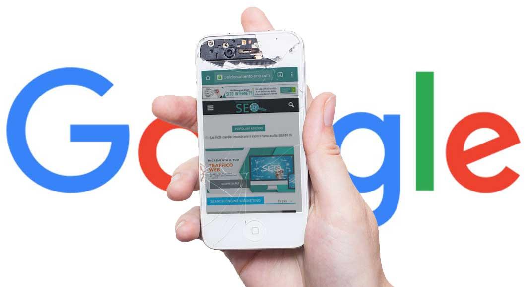 Mobile e Google: penalizzati i siti che limitano la fruizione dei contenuti
