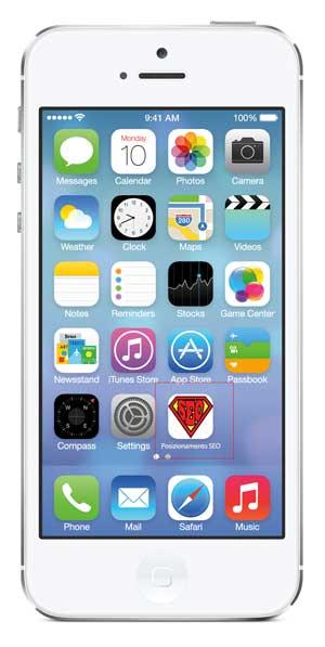 iphone icona sito