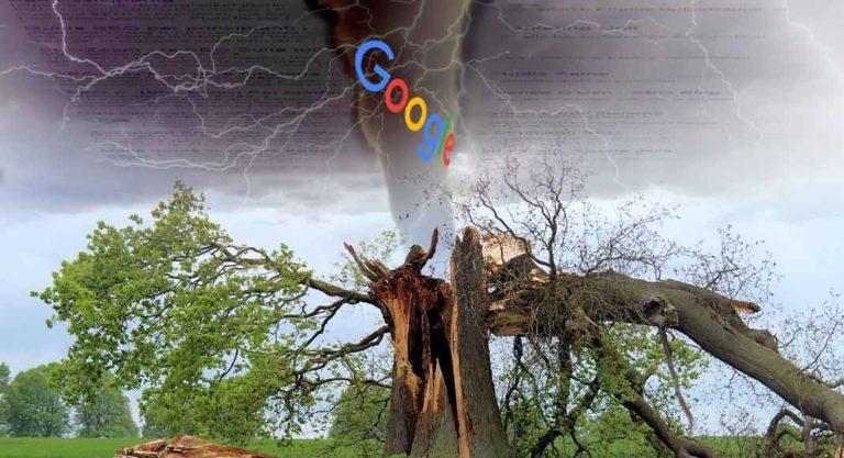 Google: aggiornamento in SERP per query competitive e ricerche locali