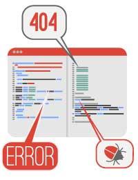 analisi errore sito