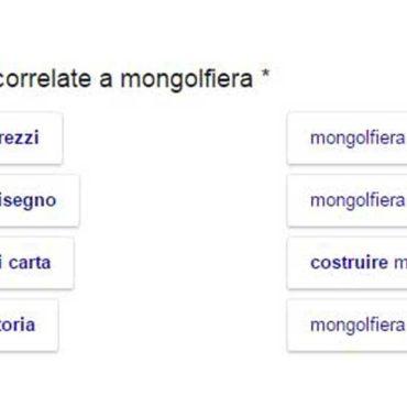 Ricerche correlate: Google effettua esperimenti di stile