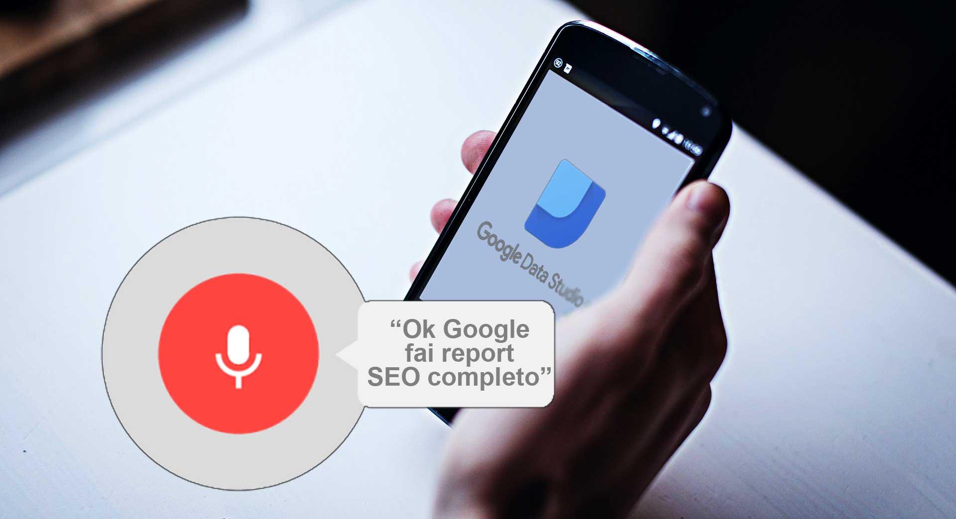 Google Data Studio: come integrare i dati da Search Console